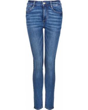 С завышенной талией синие пляжные джинсы с высокой посадкой с пайетками Tom Tailor