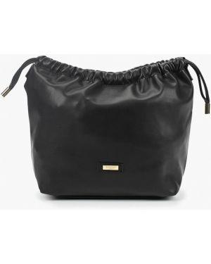 Кожаная сумка через плечо черная Camomilla Italia
