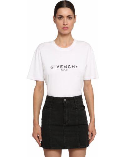 Biały bawełna bawełna koszula zabytkowe Givenchy