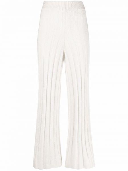 Шерстяные брюки - белые By Malene Birger