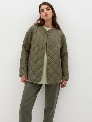 Зеленая утепленная куртка Zarina