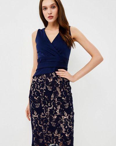 Синее весеннее платье Dorothy Perkins