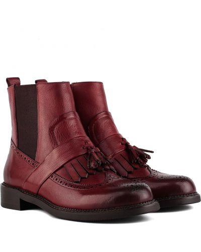 Ботинки - бордовые Djovannia
