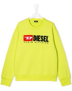 Толстовка с вышивкой Diesel Kids