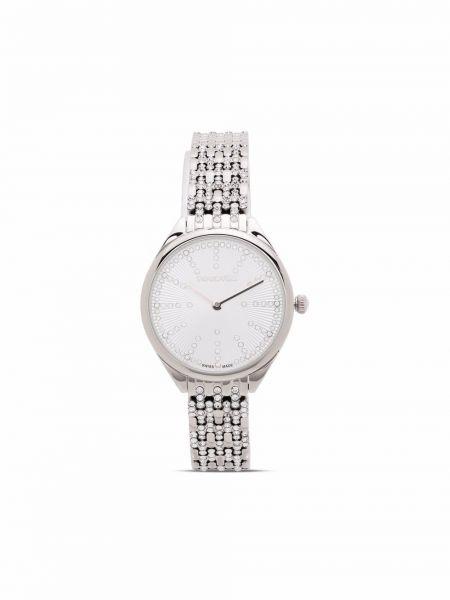 Zegarek kwarcowy srebrny Swarovski