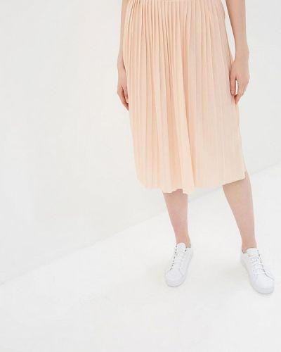 Плиссированная юбка розовая Haily's