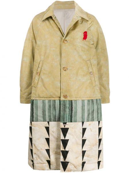 Długi płaszcz klasyczny z kieszeniami Undercover