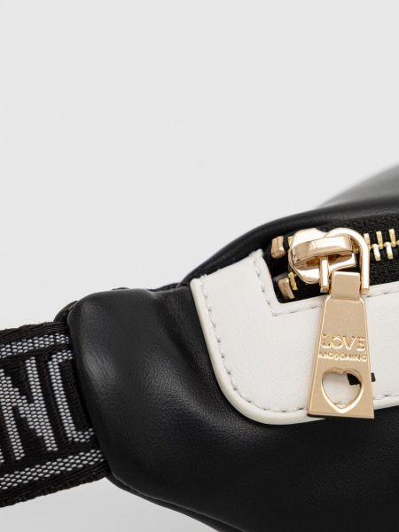 Поясная сумка с поясом Love Moschino