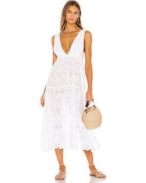 Платье миди с чашками с оборками Pilyq