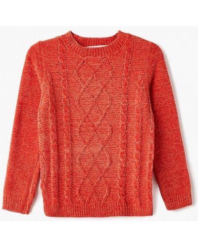 Оранжевый свитер Modis
