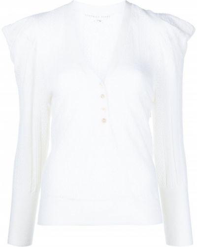 Белая кофта длинная Veronica Beard