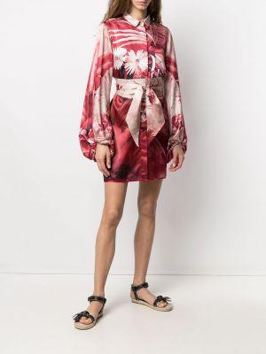 Шелковое платье - красное F.r.s. For Restless Sleepers