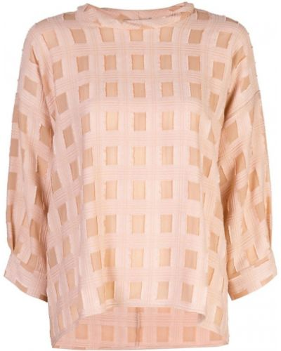 Блузка розовая батник Rachel Comey