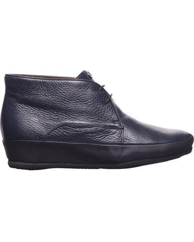 Кожаные ботинки осенние Pakerson
