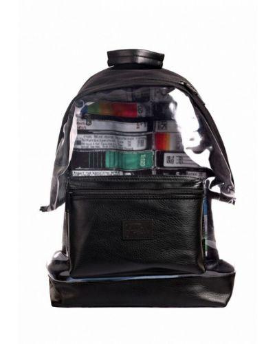 Черный рюкзак из полиэстера Fusion