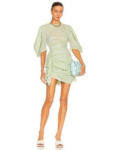 Zielona sukienka bawełniana Rhode