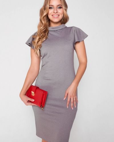 Серое платье Eliseeva Olesya