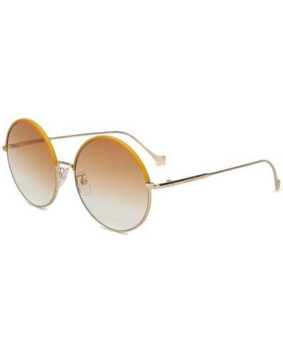 Солнцезащитные очки с градиентом круглые Loewe