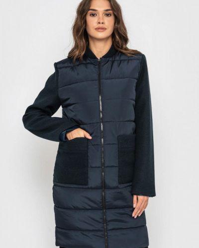 Теплая синяя куртка Sfn