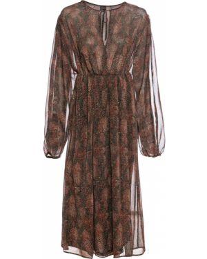 Платье шифоновое Bonprix