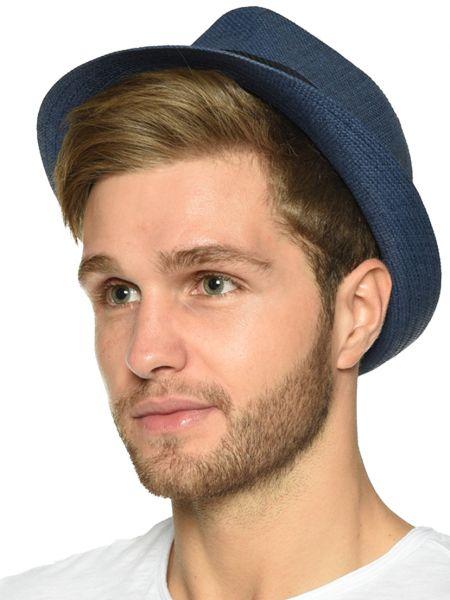 Соломенная синяя шапка Antony Morato
