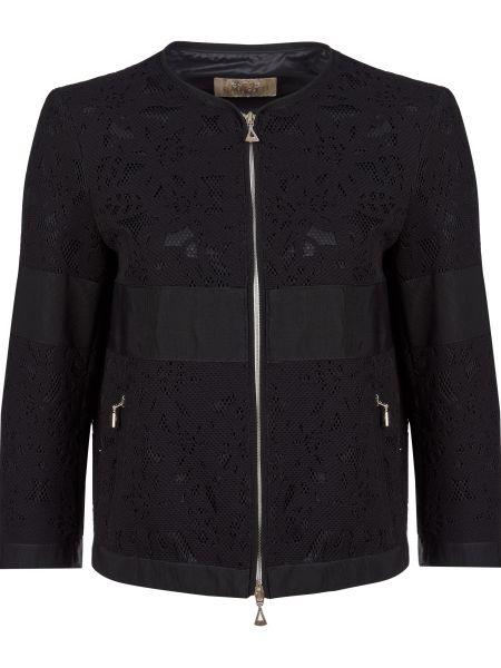 Пиджак из полиэстера - черный Gallotti