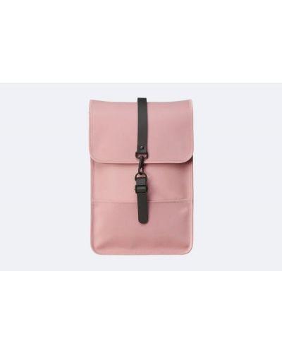 Różowy plecak na laptopa Rains