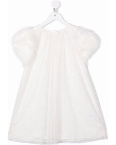 Biała sukienka bawełniana Charabia