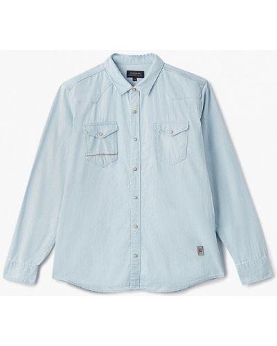 Голубая джинсовая рубашка Colin's