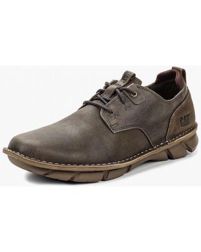 Ботинки осенние кожаные низкие Caterpillar