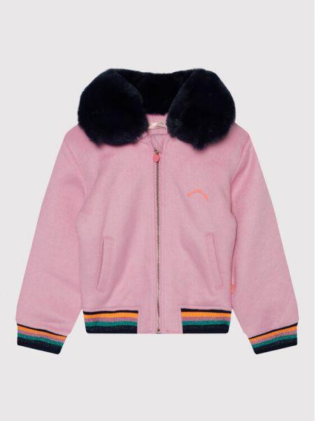 Różowa kurtka przejściowa Billieblush