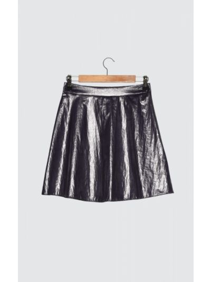 Fioletowa spódnica Trendyol
