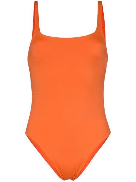 Купальник с вырезом оранжевый Araks