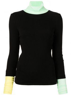 Koszulka bawełniana - czarna Enfold