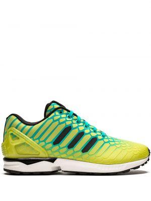 Sneakersy tekstylne zielony Adidas