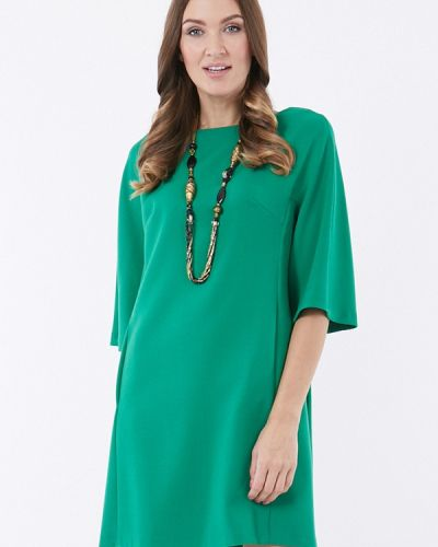 Коктейльное платье зеленый Vladi Collection