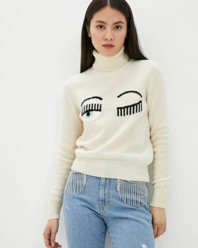 Бежевый свитер Chiara Ferragni Collection