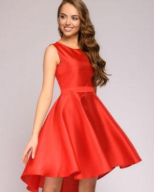 Платье с поясом на молнии платье-сарафан 1001 Dress