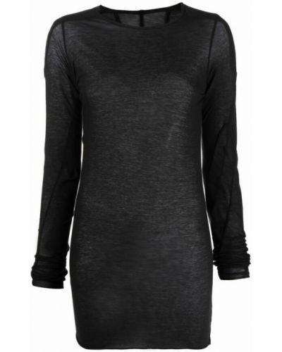 T-shirt bawełniana - czarna Rick Owens