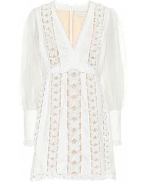 Платье мини шелковое Zimmermann