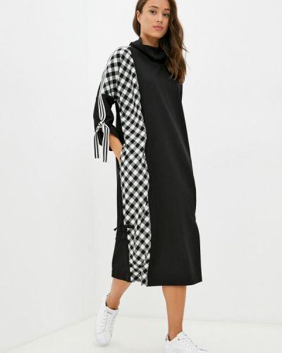Черное турецкое платье Franco Vello