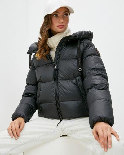 Черная зимняя куртка Parajumpers