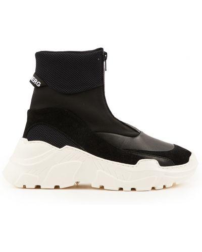 Sneakersy - czarne J.lindeberg