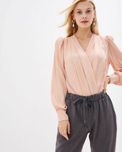 Боди розовый блуза Miss Miss By Valentina