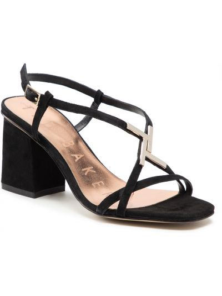 Czarne sandały casual Ted Baker
