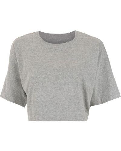 Хлопковая футболка - серая À La Garçonne
