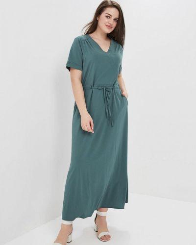 Платье весеннее зеленый Lina