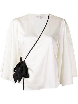 Шелковая пижама - белая Fleur Du Mal
