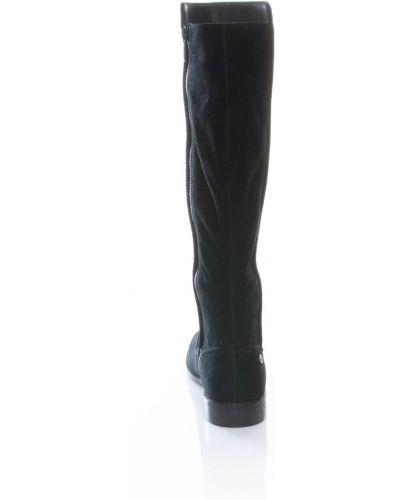 Сапоги - черные Lacoste
