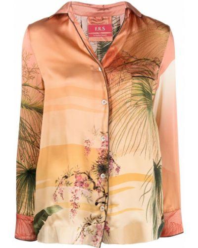 Рубашка с длинным рукавом - розовая F.r.s. For Restless Sleepers